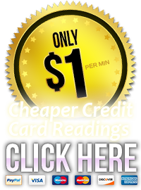 Cheapest $1 Credit Card Psychic Readings